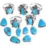 Kingman Turquoise Ladies Ring 33224