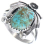 Navajo Turquoise Ladies Ring 33225