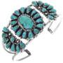 Old Pawn Turquoise Bracelet 33246