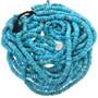 Kingman Turquoise Heishi 32787