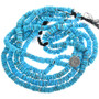 Bright Blue Turquoise Beads Natural Untreated 32788