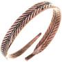 Navajo Copper Feather Bracelet 33328
