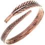 Ladies Wraparound Feather Bracelet 33328
