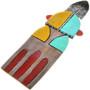 """The Clothes Ripper"" by Hopi Kachina Artist Sam Tewa 33340"