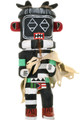 Vintage Left Handed Kachina Doll 33342