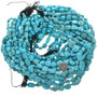 Turquoise Nuggets Bead Strands 31974