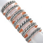 Navajo Design Copper Cuff Bracelet 33354