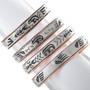 Heartline Bear Claw Navajo Copper Bracelet 33357