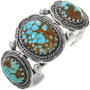 Native American Turquoise Sterling Bracelet 15690