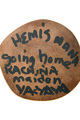 Native American Kachina Doll Artist Signed 33373