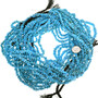 Untreated Turquoise Sky Blue Nugget Beads 31999