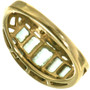 Vintage Gold Ladies Gemstone Ring 33381