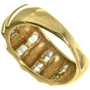 Gold Domed Design Ring 33382