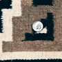 Two Grey Hills Hand Woven Rug 33385