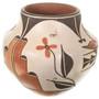Polychrome Olla Pueblo Artist Toya Medina 33502