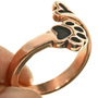 Adjustable Puppy Paw Copper Ring 33507