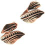Ladies Adjustable Feather Ring 33508