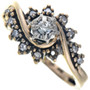Diamond Gold Ladies Ring 33527
