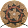Vintage Navajo Wedding Basket 33529