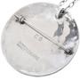 Sterling Silver Owl Design Zuni Pendant Signed 33539