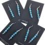 Native American Western Turquoise Dangle Earrings 33546