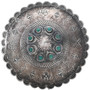 1930s Navajo Silver Turquoise Pin Brooch 33567