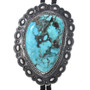 Old Pawn Turquoise Bolo Tie 33568