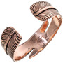 Navajo Design Bypass Feather Bracelet 33599