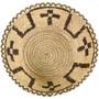 Indian Basket Cross Pattern Bowl 33658