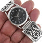 Native American Made Sterling Silver Watch 33693