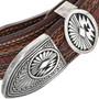 Navajo Made Sterling Silver Ranger Buckle 33819