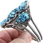 Vintage 1960s Navajo Turquoise Bracelet 33829