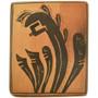 Vintage Hopi Corn Maiden Pottery Tile 33834