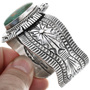 Navajo Robert Shakey Turquoise Bracelet 33844
