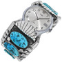 Sleeping Beauty Turquoise Watch Cuff 33852