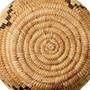 Papago Coyote Tracks Hand Woven Basket 33860