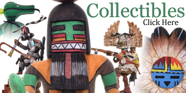 Collectibles Kachinas Native American Pottery and Baskets