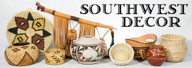 Southwest Decor Baskets Pottery Rugs Native Crafts