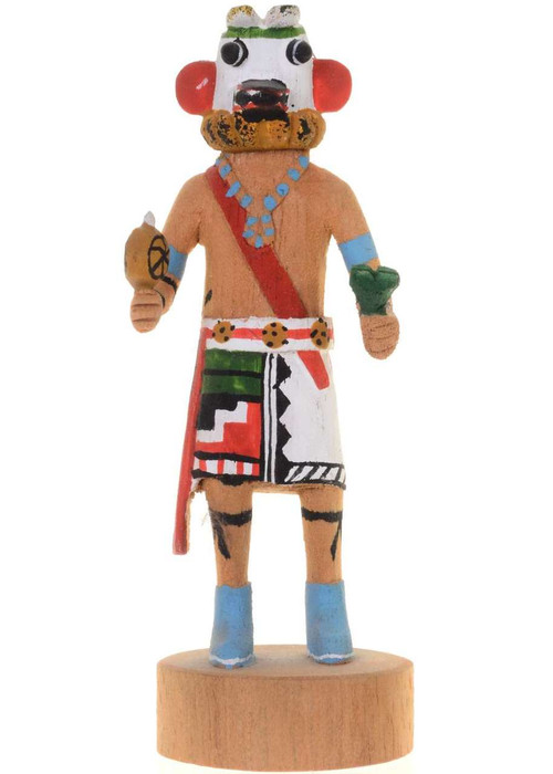 Crazy Rattle Miniature Kachina Doll 27618
