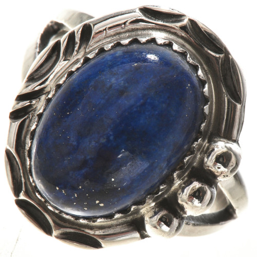 Details about  /Navajo Sterling Silver Blue Lapis Ring
