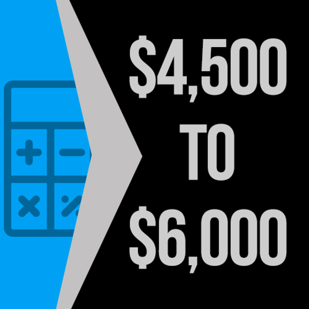 $4500 to $6000