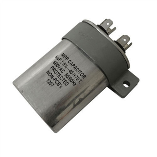 Lester Replacement 6 MF Capacitor With Bracket for Golf Cart