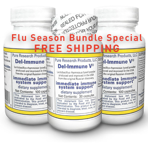 Flu Season Bundle Special - FREE Shipping