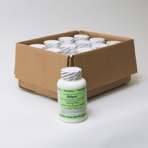 Case of 12 - Delpro™ 150 Capsule Bottles
