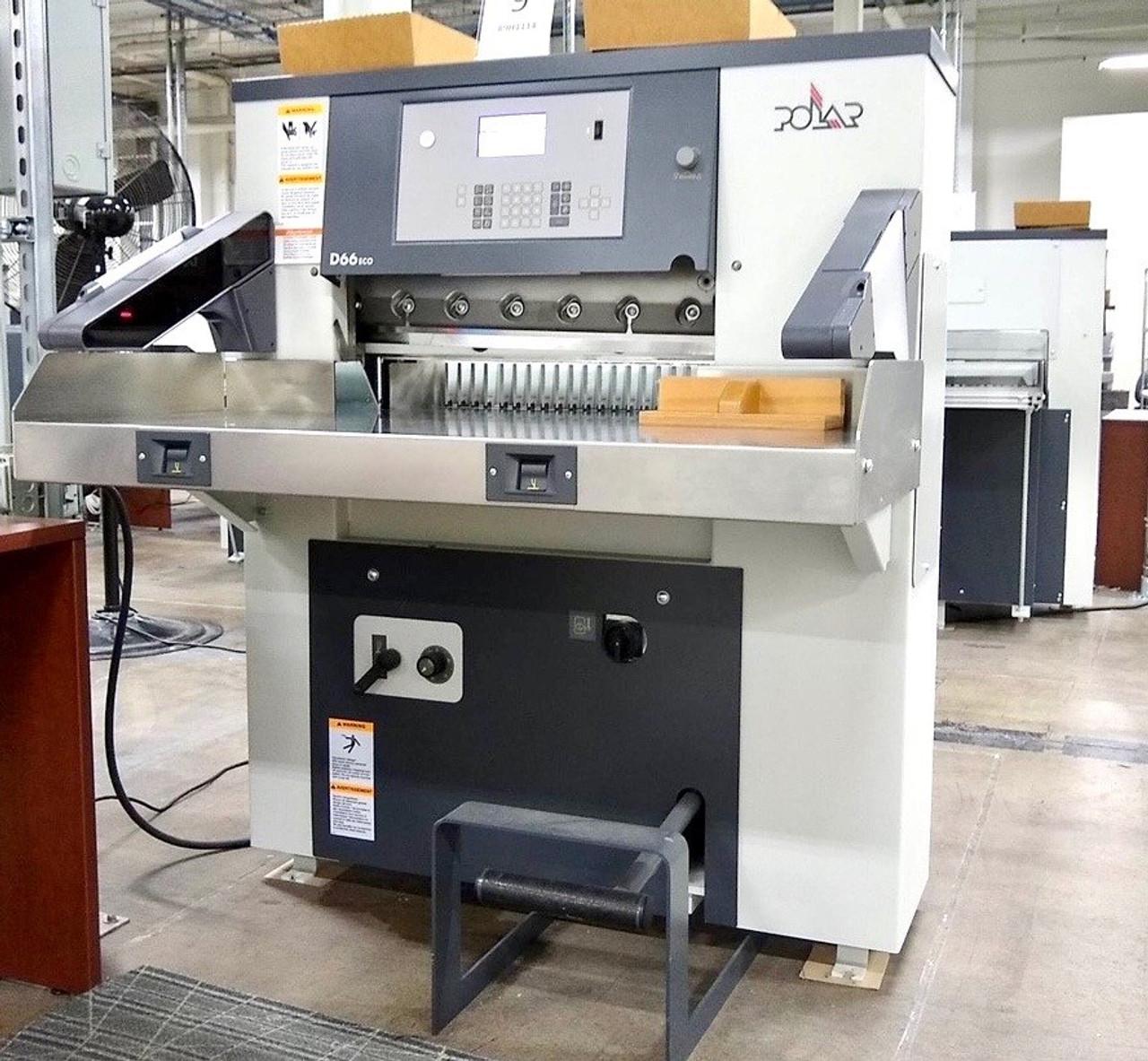 2019 Polar 66 Paper Cutter