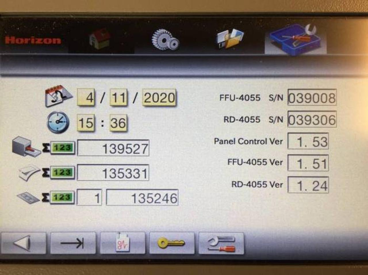 2018 Horizon RD-4055DM ROTARY DIE CUTTER