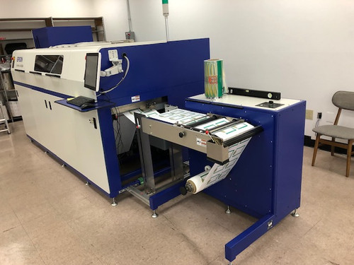 2016 Epson SurePress L-4033AW Digital Label Press