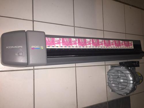"Komori  40"" PDC-S Scanner & Track"