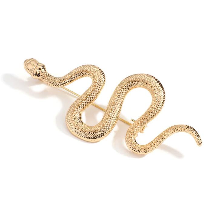 Golden Snake Pin