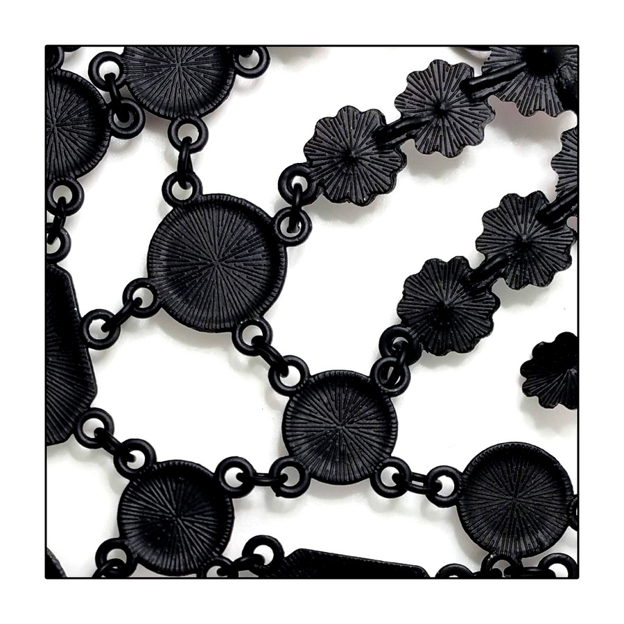 Stunning Black and Sunflower Gold Crystal Statement Necklace
